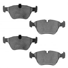 01-03 BMW 525i; 97-00 528i; 99-00 528iT Front Ceramic Disc Brake Pads (CD947)