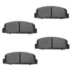 Rear Ceramic Disc Brake Pads (CD482)