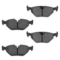 98-05 BMW E46 3 Series; 99-02 Z3; 03-08 Z4; 99-09 Saab 9-5 Rear Ceramic Brake Pad Set (MD763)