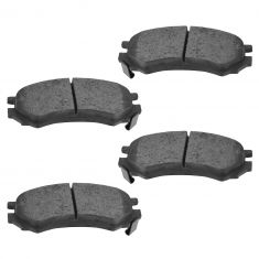 91-02 Saturn SC, SL Series; 93-01 SW Series Front Ceramic Disc Brake Pads (CD507)