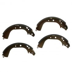 Rear Brake Shoe Set (S589)