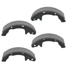 90-92 Dodge; 88-92 Eagle; 92-07 Ford; 91-93 Hyundai; 92-05 Mercury Multifit Rear Brake Shoe Set