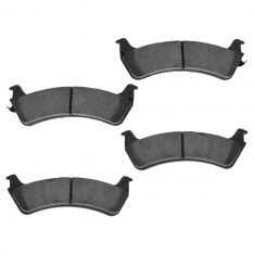 95-03 Explorer; 03-05 Expl Sport Trac; 98-02 Ranger; 97-01 Mountaineer Rear Ceramic Disc Brake Pads
