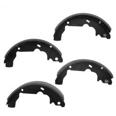 05-06 Equinox; 01-05 Aztek; 06 Torrent; 02-07 Vue; 07 Vue Hybrid Rear Brake Shoe Set (S780)