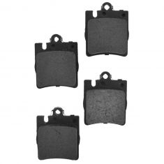 Rear Semi Metallic (1 Pin) Disc Brake Pads (MD873)
