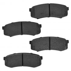 Rear Semi Metallic Disc Brake Pads (MD606)
