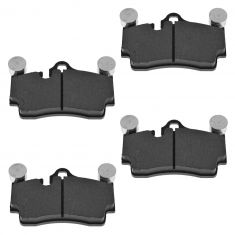 Rear Semi Metallic Disc Brake Pads (MD978)