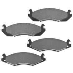 Front Posi Semi Metallic Disc Brake Pads (MD203)