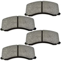 95-02 Ford Explorer Mercury Mountaineer Posi Semi-Metallic Disc Brake Pads Rear