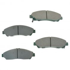 09-15 Honda Pilot Front Ceramic Brake Pad Set
