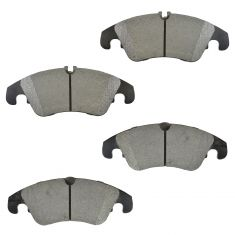 09-15 A4, S4; 08-15 A5, S5; 12-15 A6; 14-15 A7 Front Semi-Metallic Brake Pad Set