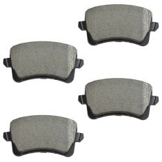 09-15 A4, S4; 08-15 A5, S5; 09-15 Q5 Rear Semi-Metallic Brake Pad Set