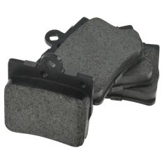 98-11 Mercedes Benz Rear Single Pin Posi Metallic Brake Pad Set