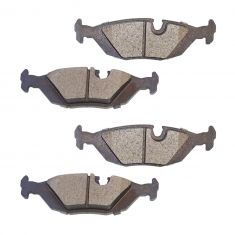 91-93 BMW 318, 325, 528 Rear Posi Ceramic Brake Pad Set