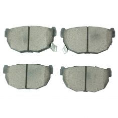 84-98 Nissan 240SX Rear Ceramic Brake Pad Set