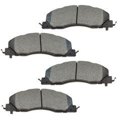 09-16 Ram 2500, 3500 Front Posi Semi Metallic Brake Pad Set