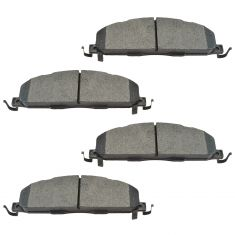 09-16 Ram 2500, 3500 Rear Posi Semi Metallic Brake Pad Set