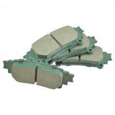14-16 Highlander; 11-16 Sienna Rear Ceramic Brake Pad Set