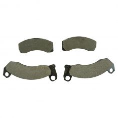 87-93 Ford Mustang Front Semi Metallic Disc Brake Pad Set