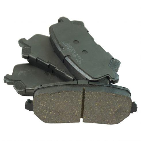 14 17 MDX; 16 Pilot Rear Ceramic Brake Pad Set
