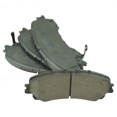 14-16 Q50, Rogue w/3rd row Front Ceramic Brake Pad Set