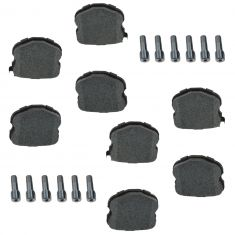 06-13 Chevy Corvette Rear Semi Metallic Disc Brake Pad Set w/Alignment Pins (AC DELCO)