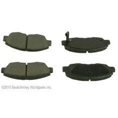 96-05 Honda Civic Front OE Nissin Disc Brake Pad Set