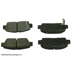 98-02 Chevy Prizm; 95-99 Toyota Avalon; 98-02 Corolla Rear OE Sumitomo Disc Brake Pad Set