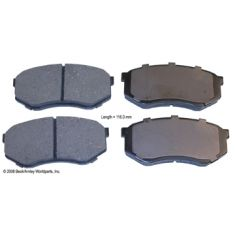 95-04 Toyota Tacoma 2WD Front OE Advics Disc Brake Pad Set