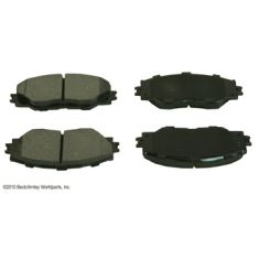11 Scion TC; 09 Corolla; 09-11 Matrix; 06-11 Rav4 Front OE Advics Disc Brake Pad Set