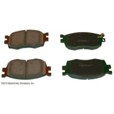 03-10 MB CL, E, S, SL Series Rear OE Jurid Disc Brake Pad Set