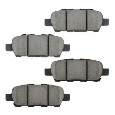07-10 EX35, FX35, G35, G37, M35, M45, 370Z, Maxima, Murano Rear OE Hitachi Disc Brake Pad Set