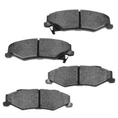 1997-04 Chevy Corvette Brake Pads Rear HPS (Hawk)
