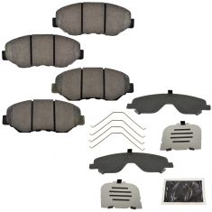 02-06 Honda CR-V; 12 CR-V (w/2wd, North Amer Blt); 13-16 CR-V w/2wd Front Disc Brake Pad Set (Honda)
