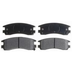 Raybestos Service Grade Disc Brake Pads - Semi-Metallic - Rear SGD508M