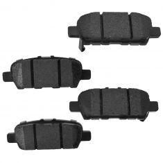 Rear Element 3 Hybrid Disc Brake Pads w/ HW (Raybestos EHT905H)