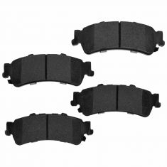 Rear Element 3 Hybrid Disc Brake Pads w/ HW (Raybestos EHT792H)