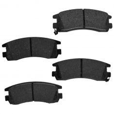 Rear Element 3 Hybrid Disc Brake Pads w/ HW (Raybestos EHT698H)