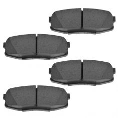 07-14 Toyota Tundra; 08-14 Sequoia; 08-11 Lexus LX570 Semi-Metallic Rear Disc Brake Pad Set (Toyota)