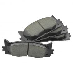 07-09 ES350; 08-09 Avalon; 07-15 Camry, Hybrid Front Disc Ceramic Brake Pads w/Shims Kit (Toyota)