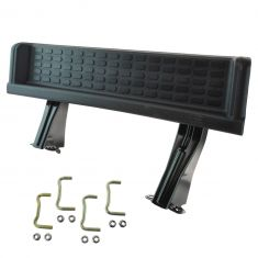 01-06 Jeep Wrangler Molded Black Plastic w/Steel Substructure Running Board Side Step Kit (Mopar)