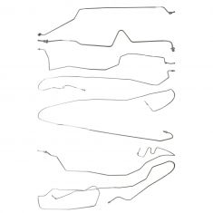 2002 Escalade EXT, Avalanche 1500, 2500 (7 Piece) Stainless Steel Brake Line Kit (Dorman)