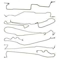 06-07 Silverado, Sierra 1500 Ext Cab Classic w/5'9 In Bed (7 Pc) Stainless Steel Brake Line Kit (DM)