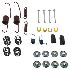 00-11 Ford Focus Rear Drum Hardware Kit