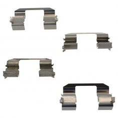 97-99 Acura CL; 90-97 Accord; 92-96 Prelude Front Brake Pad Hardware Kit