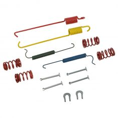 92-07 Taurus Sedan; 92-05 Sable Sedan; 91-93 Sonata Rear Drum Brake Hardware Kit