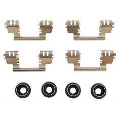 05-07 Freestyle, Montego; 08-09 Tuarus, Tuarus X, Sable Rear Brake Hardware Kit
