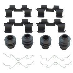 09-12 Flex, MKS; 10-12 Taurus (ex SHO), MKT Front Brake Hardware Kit