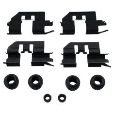 09-14 Acura TL; 05-10 Honda Odyssey; 06-14 Ridgeline Rear Disc Brake Hardware Kit