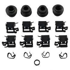 10-17 Lexus; 09-10 Vibe; 08-16 Scion; 06-18 Multifit Front Disc Brake Hardware Kit